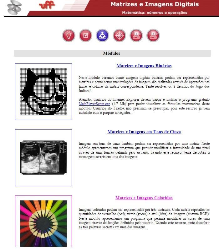 Matrizes e imagens coloridas