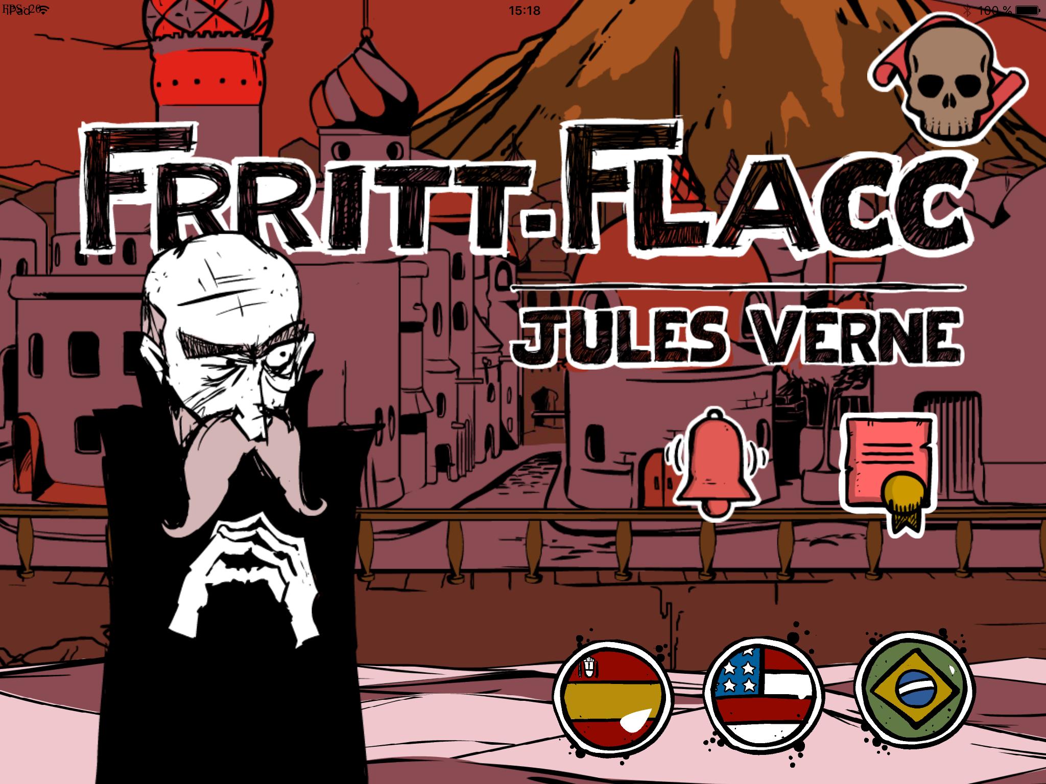 Frritt-Flacc, de Jules Verne - livro interativo
